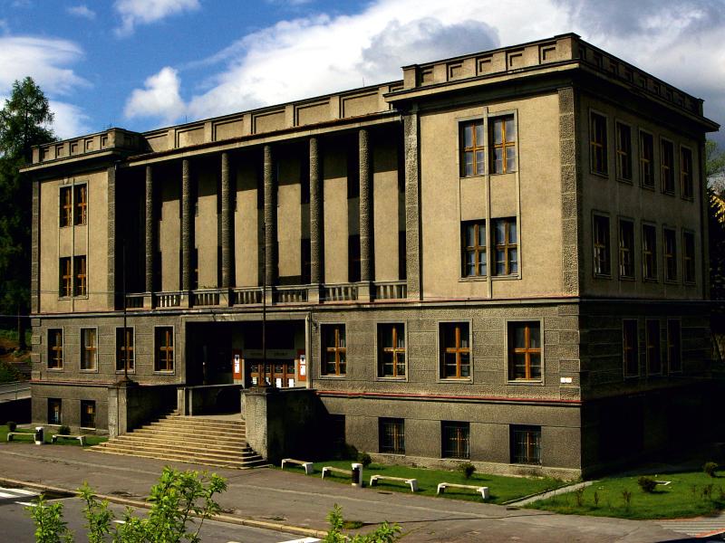 Budova Liptovského múzea v Ružomberku, rok 2006