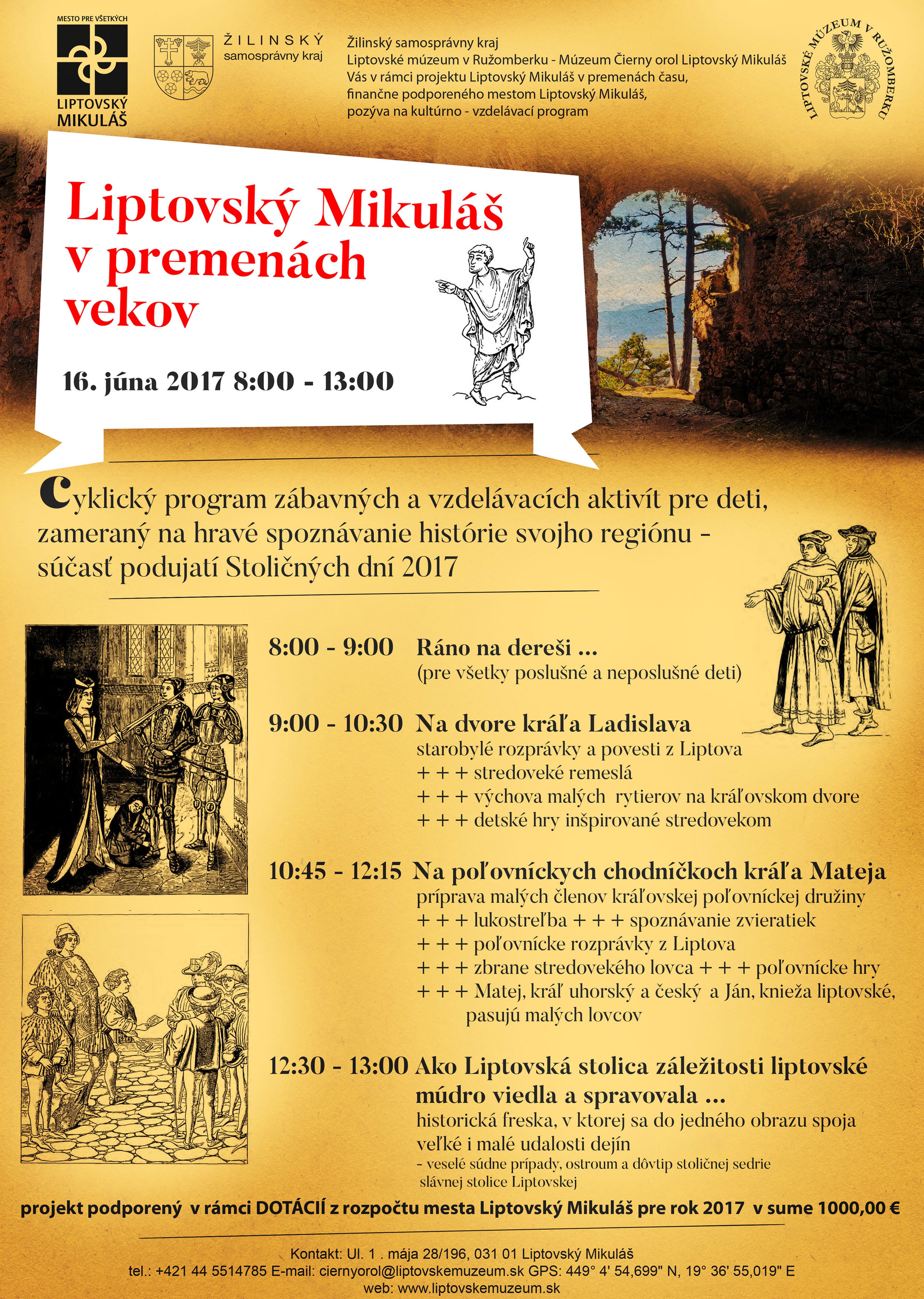 Liptovský-Mikuláš-v-premenách-vekov